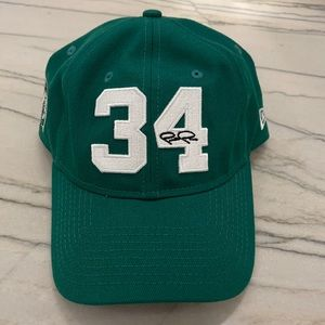 New Era Paul Pierce Jersey Retirement Hat Green